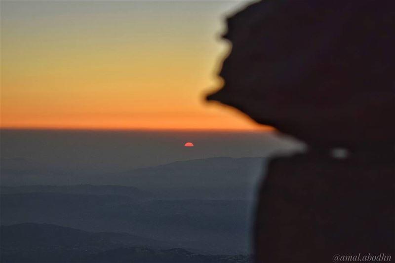 عندما تكون البداية صعبة اعلم ان النهاية تستحق التعب 👌👌 حاصبيا حرمون جبل (Mount Hermon)