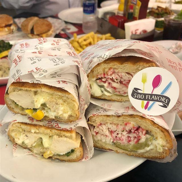 Crab 🦀 sandwich or chicken sandwich?! @beitalmokhtar zalka ...... (Az Zalqa', Mont-Liban, Lebanon)