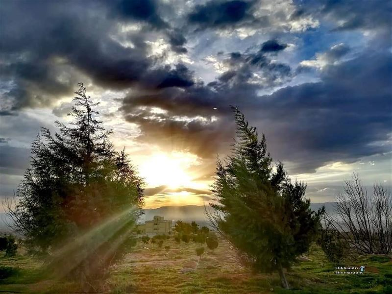 Each sunrise brings a new day with new hopes for a new beginning ... good... (El Hermel, Béqaa, Lebanon)