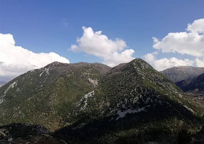 JabalMoussa... Just before the upcoming storm. unescomab unesco ...