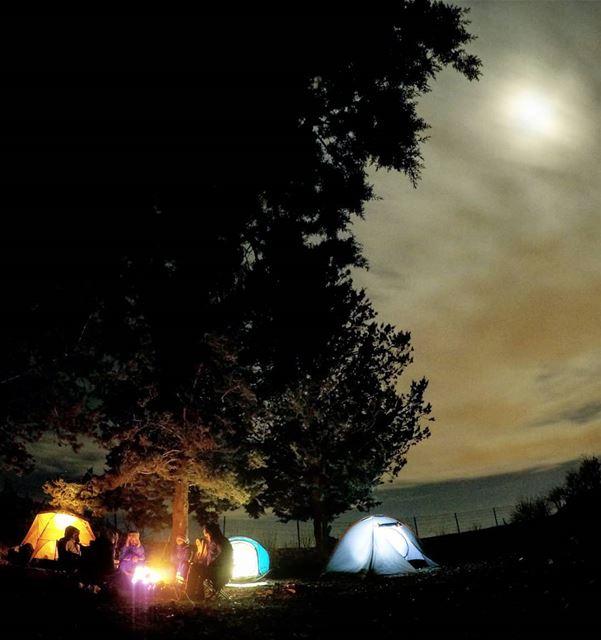 SilentNight ColdNight BeforeTheStorm WarmFire Camping Bekaa Lebanon... (West Bekaa)