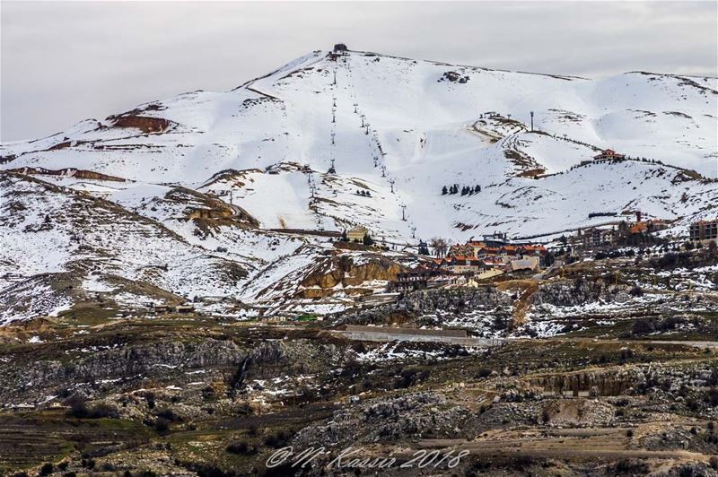 clouds  mountain  snow  ski  zaarour  baskinta  Lebanon ... (Baskinta, Lebanon)