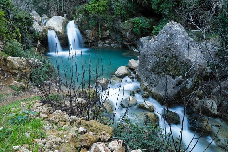 Another peaceful view of arabsalim river.... photography photographer... (`Arab Salim, Al Janub, Lebanon)