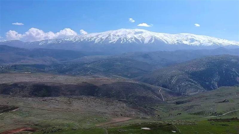 jabalelsheikh takenbywissamalhoury landscapephotography landscape... (Jabal El Sheikh)