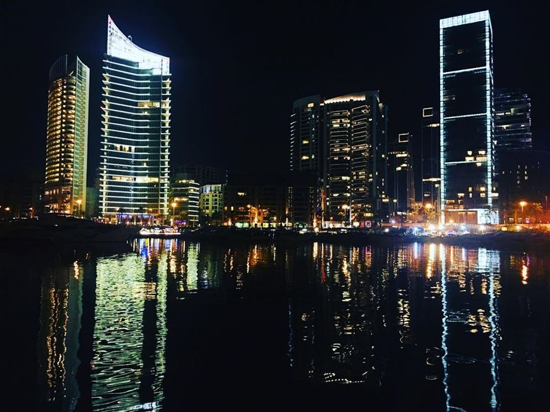 Have You Looked In The Mirror Lately?. beirut lebanon sky travel ... (Zaitunay Bay)