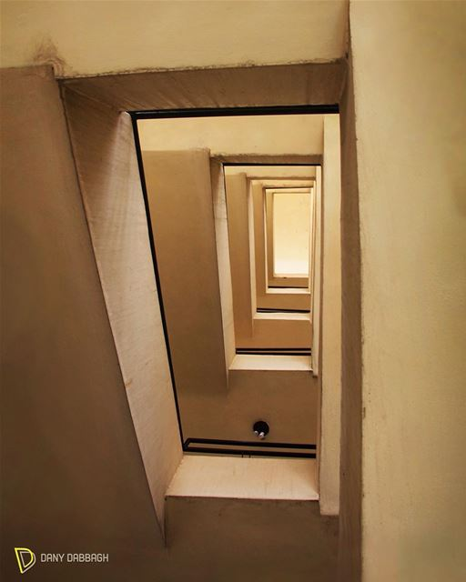 While you can be falling in this maze, you can be rising towards the... (Beirut, Lebanon)