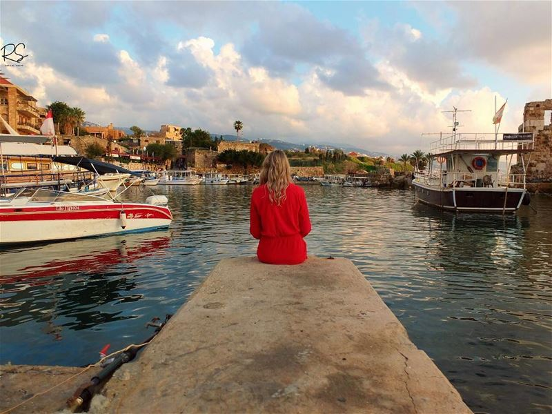 Lend me your eyes I can change what you see...Sometimes we take the... (Byblos, Lebanon)