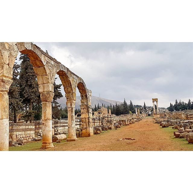 AnjarThe city of Anjar was founded by Caliph Walid I at the beginning of... (`Anjar, Béqaa, Lebanon)