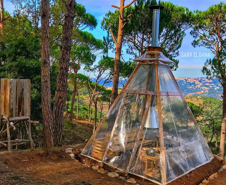 Good morning beautiful people! ❤️⛺️ Who would you take to this amazing... (Lebanon)
