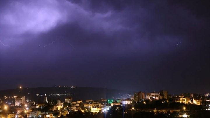 timelapse zgharta lightning lightningtimelapse lightningstorm storm ...