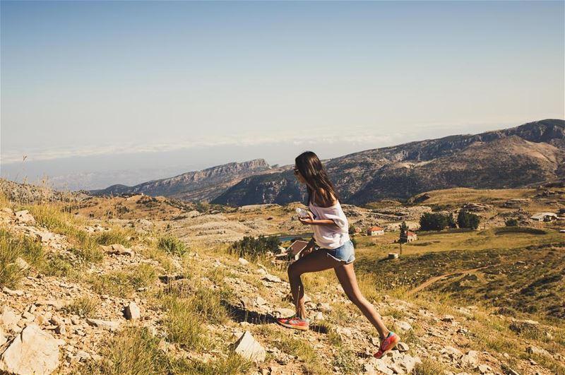 U n s t o p p a b l e T o d a y 🏃🏽♀️- 📸 @haigmelikian ♥️ ... (Akoura, Mont-Liban, Lebanon)