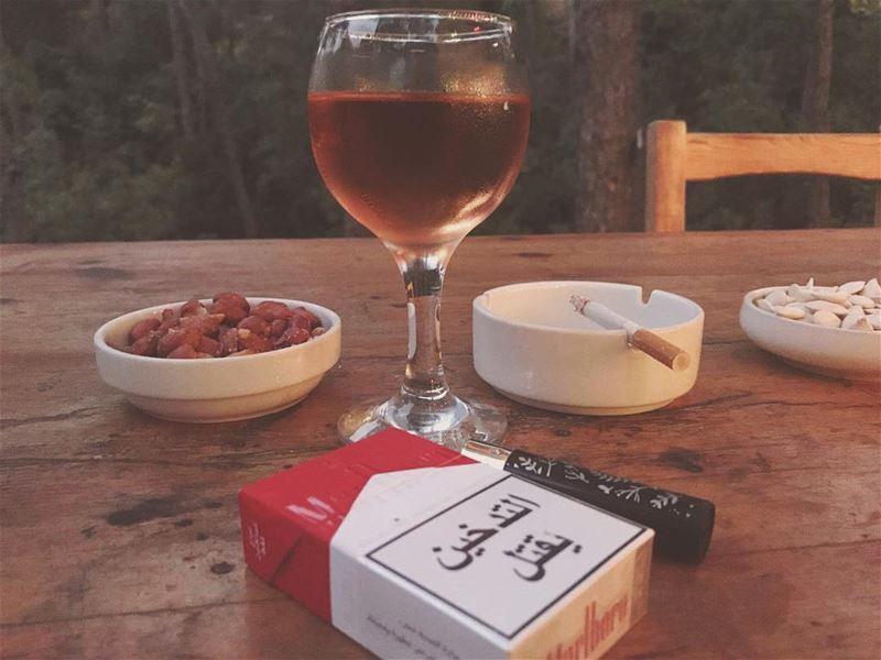 🍷.. lebanon_hdr lebanoninstagram lebanonspotlights lebanontimes ... (La Maison de la Forêt)