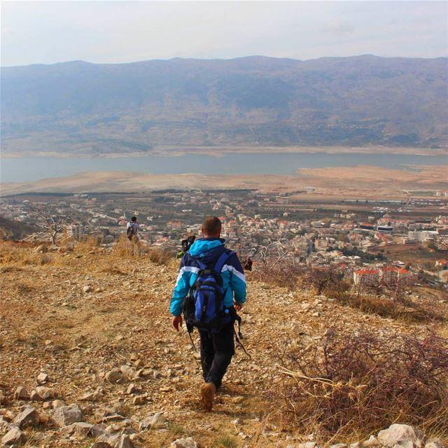hikingadventures hiking livelovelife lifestyleblogger naturelovers ... (Qaraaoun, Béqaa, Lebanon)