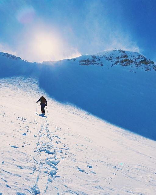 Summit climb ⛷ (Mzaar Kfardebian)