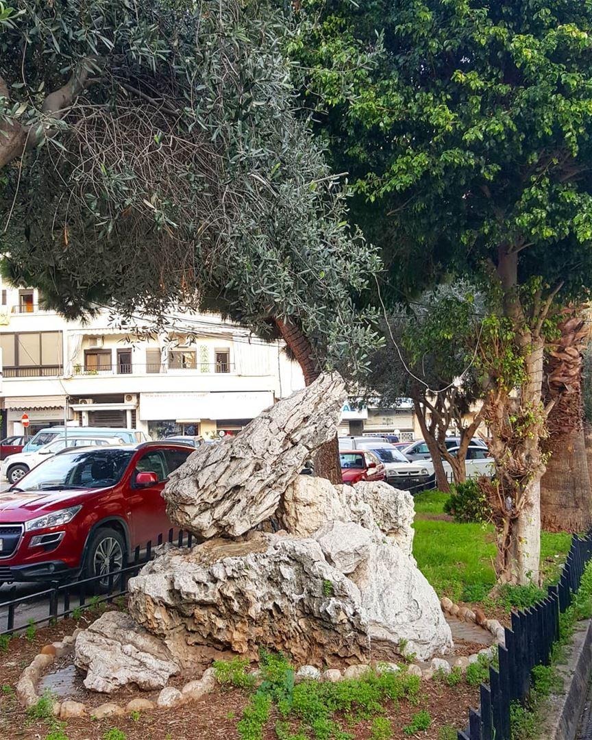 Random Rock hiddenbeirut .......... Lebanon Beirut ... (Forn L Chebek)