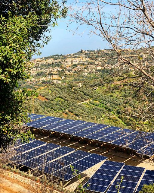 Lebanon's most precious natural resource: Sunlight! SolarPanels ... (Bkerzay)