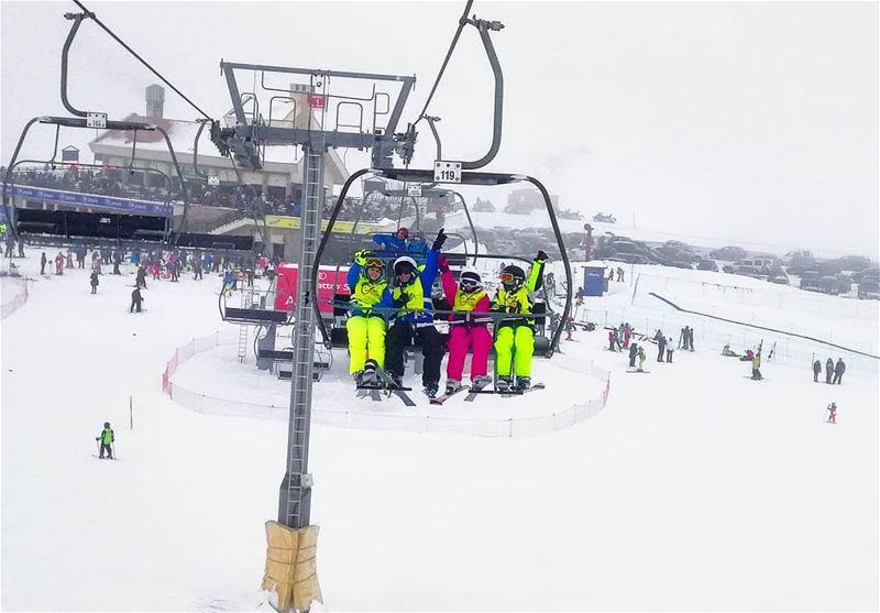 Are you ready for a big weekend? groupez skischool mzaar lebanon ... (Lebanon)