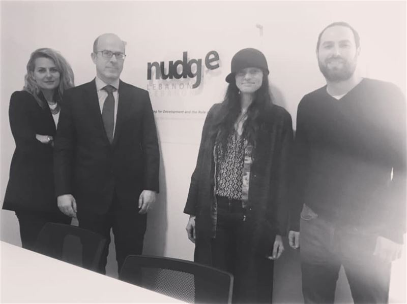Celebrating the milestones! Currently discussing collaboration with @nudge_