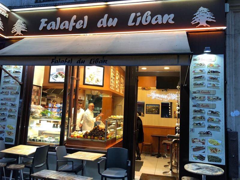 Spreading Lebanese food abroad. Paris. lebanesefood falafel liban ...