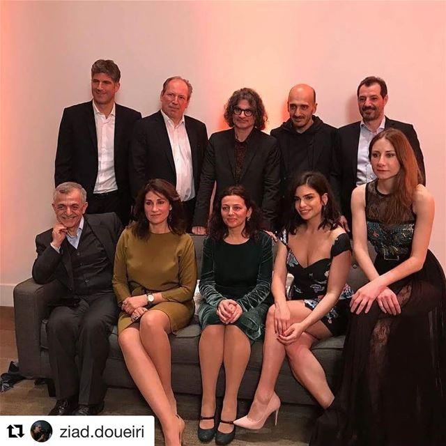 🇱🇧 Elenco do filme libanês 'O Insulto' chega em Los Angeles para a... (Los Angeles, California)
