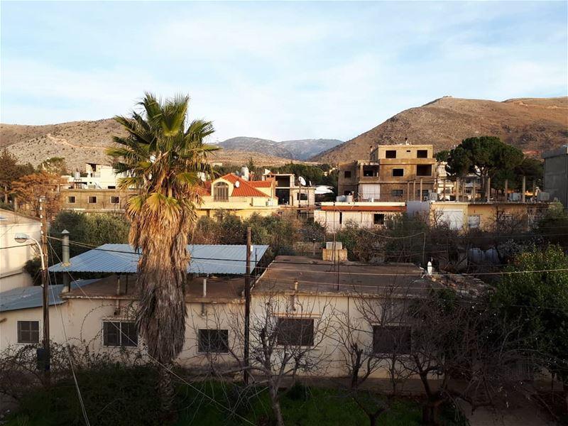 🌴... Anjar green village hometown nature հայեր Armenians عنجر ...