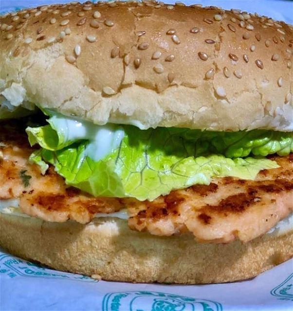@restaurant_et_falafel_joseph - New: Salmon burger Healthy meal. Salmon... (Restaurant and Falafel JOSEPH-Sin El Fil)