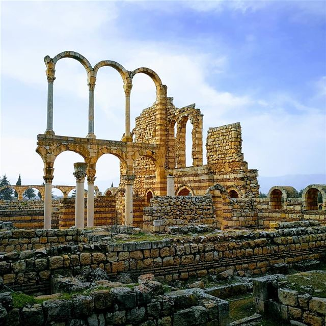 Anjar........ travelawesome exploretheglobe worlderlust ... (`Anjar, Béqaa, Lebanon)