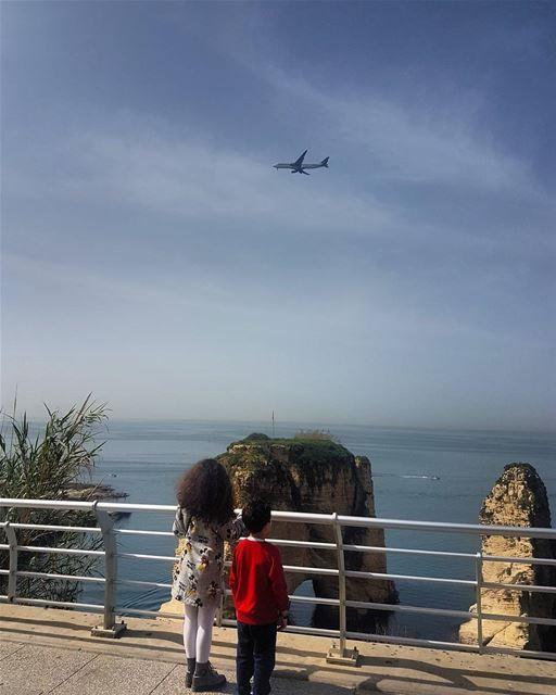 🌞🌞 sunnyday sightseeing lebanon beirut beautifulplaces soon ... (Rawcheh)
