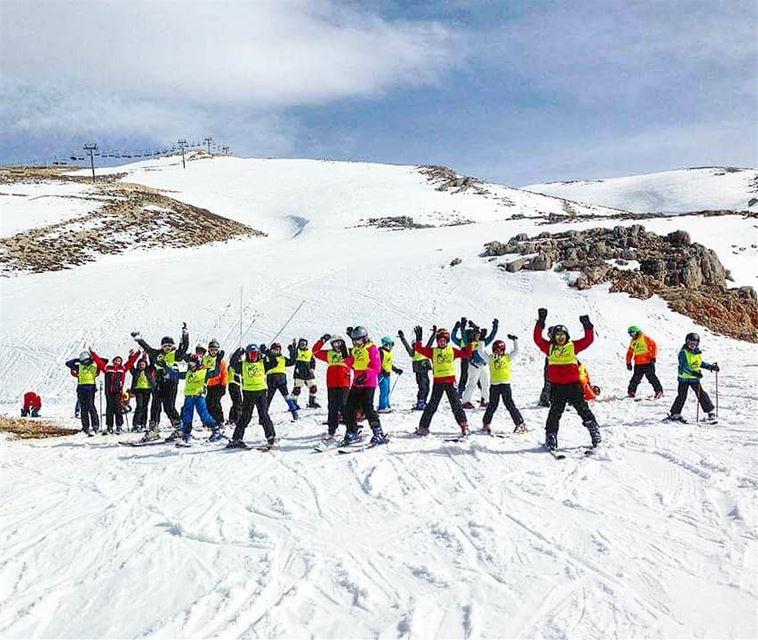 ⛷️⛷️ groupez skischool mzaar lebanon sportsexperts ... (Mzaar)