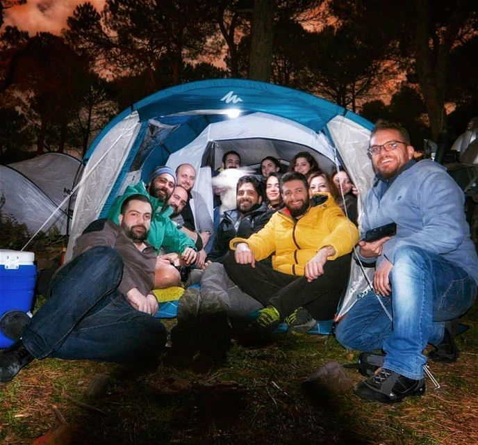 Best 4am sob7iye at the Hajj residence lebanon mountains camping ... (Marj Biskinta, Mont-Liban, Lebanon)