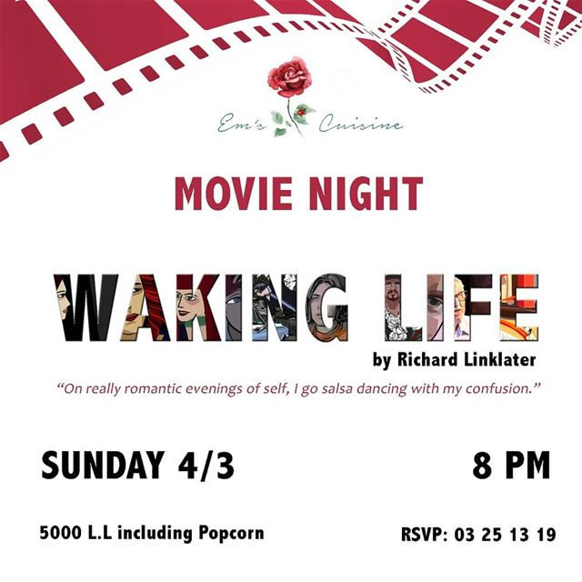 Movie Night at Em's every Sunday! Movie starts 8:30PM./ Join us for a... (Em's cuisine)