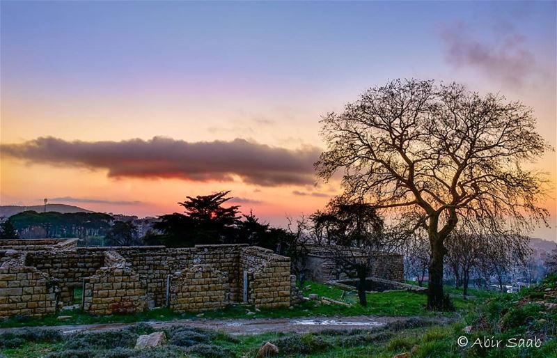 Smile a little more.. Regret a little less lebanon mountlebanon sunset... (Mount Lebanon Governorate)