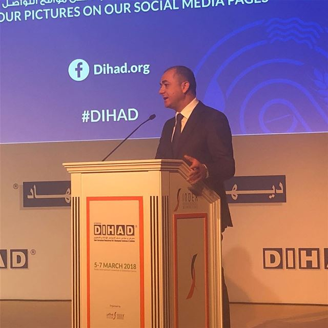 "happeningnow, the special session at  DIHAD on ""The World Humanitarian... (Dubai, United Arab Emirates)"