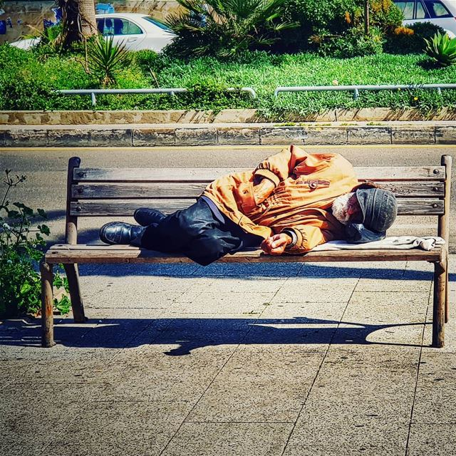 homelesspeople are not the problem...actually they are the result of the... (Beirut, Lebanon)