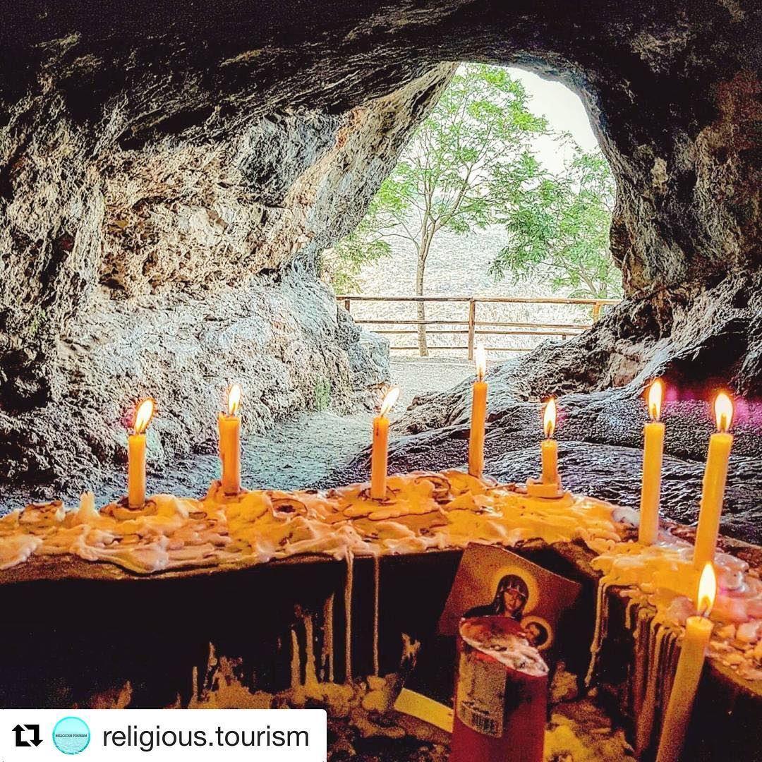 🇱🇧 Gruta no vilarejo de Qana onde supostamente Jesus teria passado um... (Aïn Qâna, Al Janub, Lebanon)