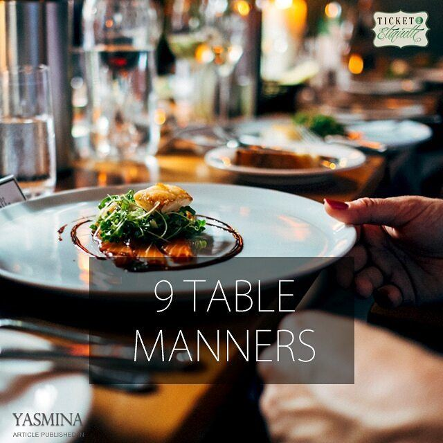 Vera on 9 tablemanners rules to follow with @gracytta in @yasminadotcomخب (Beirut, Lebanon)