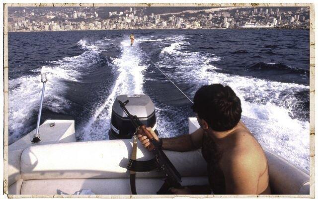 Good morning Beirut. jounieh 1987. cartespostalesdabsurdistan on sale @ka