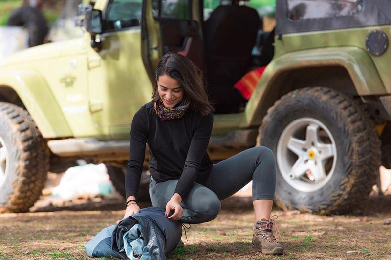 ✌🏼⛺️ campinglife camping⛺️ campingtrip mylife wrangler offroad ... (Lebanon)