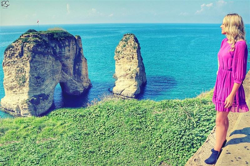 Patience is the key because when the right time comes, it will be very... (Ar Rawshah, Beyrouth, Lebanon)
