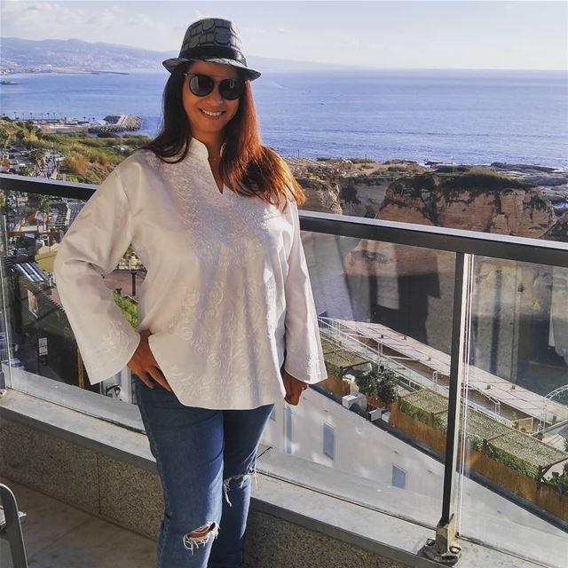 Good day goodmorningpost goodvibesalways sea views placetovisit ... (Rotana Hotels Lebanon)