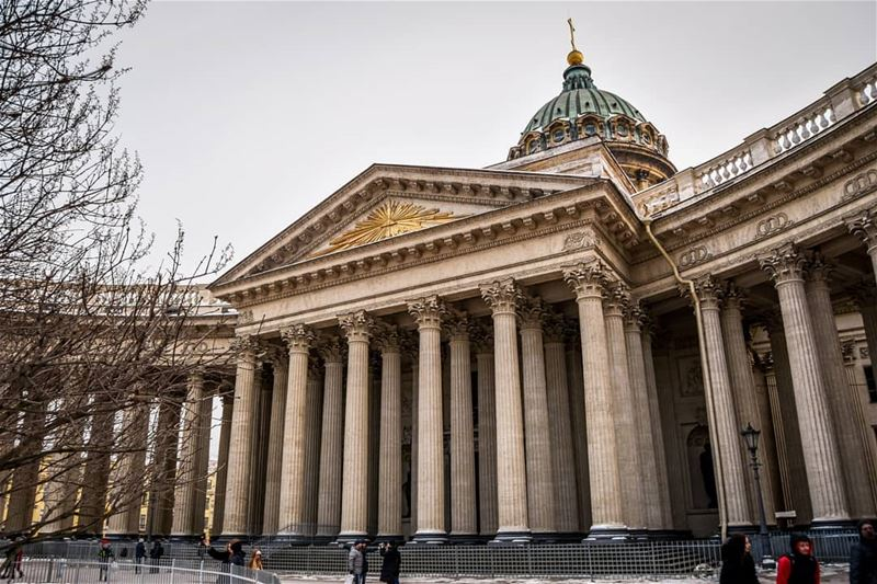 Kazan Cathedral | Saint-Petersburg RU 6/3/2018. It was a normal day in the... (Saint Petersburg, Russia)
