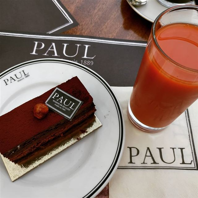 cake juice carrotjuice🍹 fresh chocklate yummy delicious paul ... (ABC Verdun)