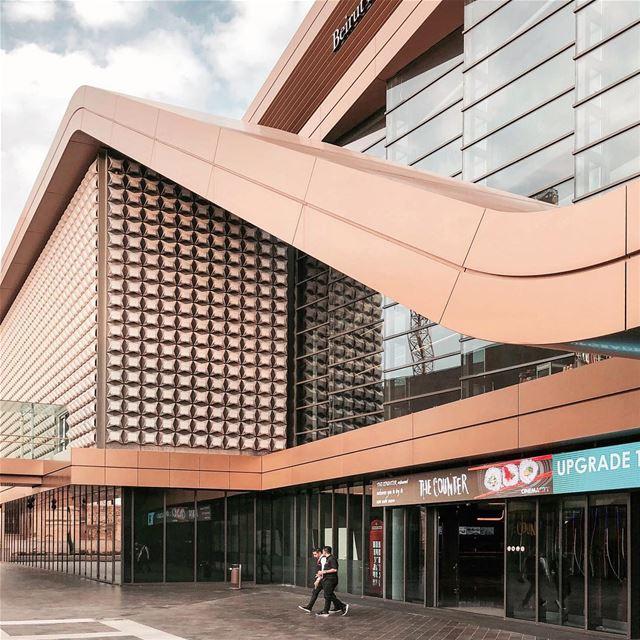 Archilover ✨ architecture shape iamatraveler shotoniphone archilovers..... (Beirut Souks Cinemacity)