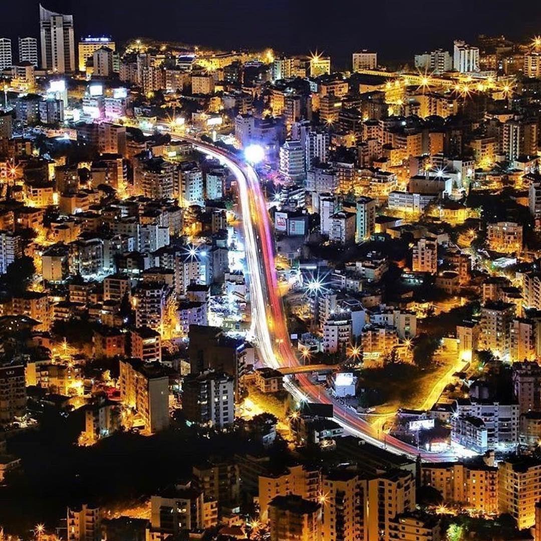 Goodnight beautiful Lebanon 🇱🇧❤️🇱🇧 photo by @elieabdelnoor 🙌🇱🇧🙌 ... (Lebanon)