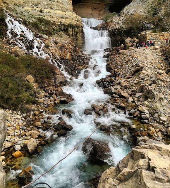 naturalbeauty afka afkawaterfalls waterfall waterfalls ... (Afka, Mont-Liban, Lebanon)