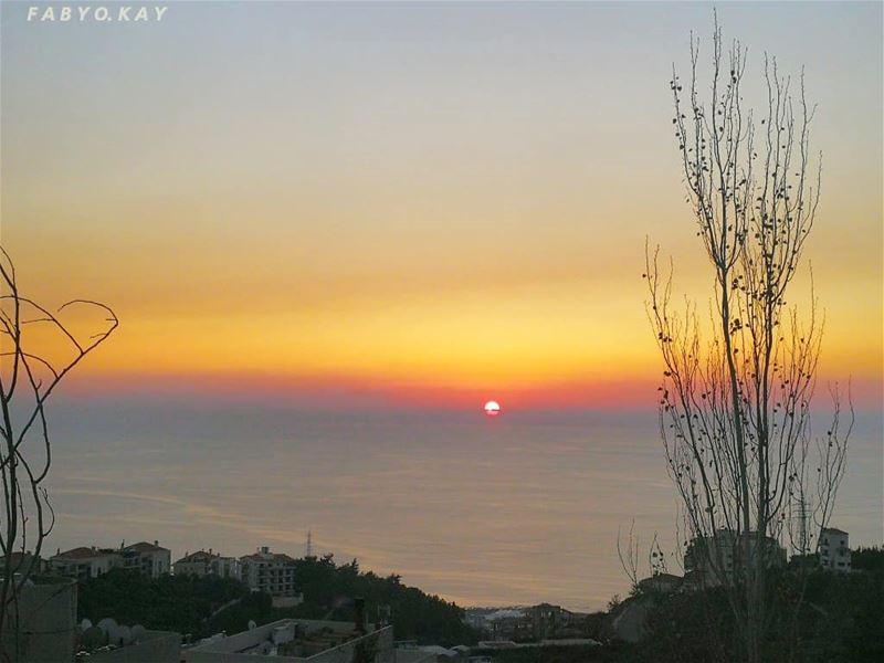_____________________________________ sunset sunsetlovers libanon ghazir... (Ghazir, Mont-Liban, Lebanon)