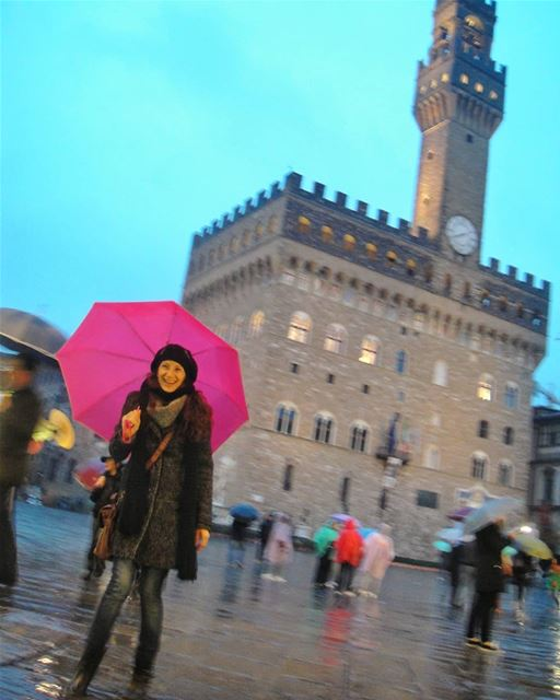 Under my umbrella 🌂☂☔... florence piazzadellasignoria italy ig_italy ...