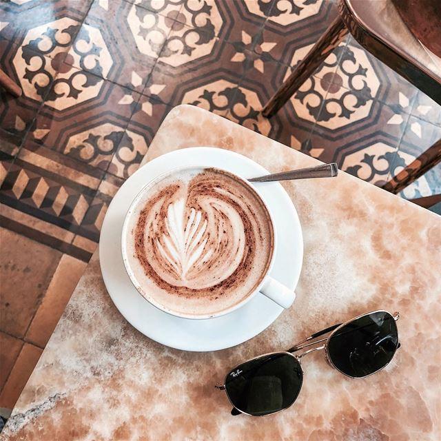 ☕️ Beirut foodporn eeeeeats cappuccino......- [ ] vsco vscocam... (Beirut, Lebanon)