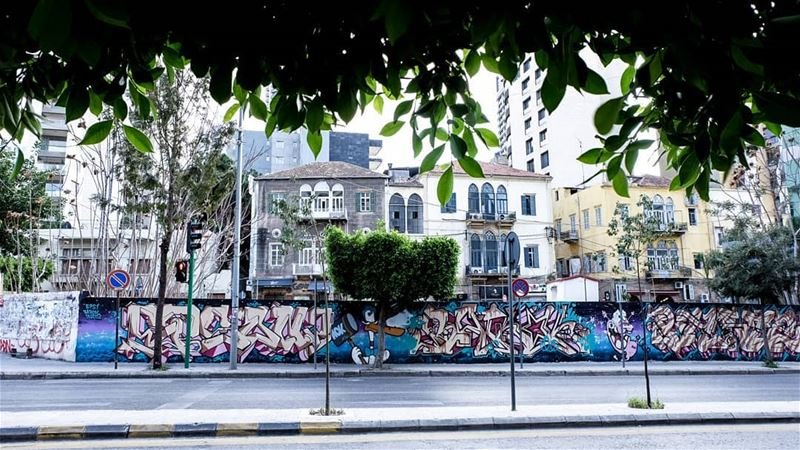 //Speak softly, but carry a big can of paint// achrafieh livelovelebanon... (Achrafieh, Lebanon)