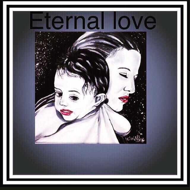 Happy Mother's Day 🇬🇧Eternal Love ❤️❤️❤️ art oilpainting fineart...